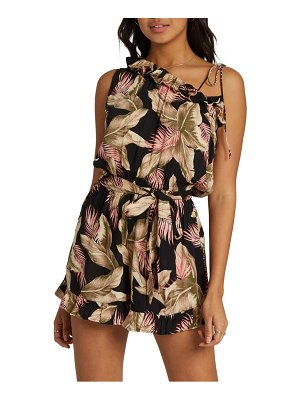 Billabong keep trying belted romper