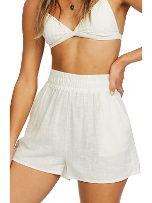 Billabong love to lounge cover-up shorts