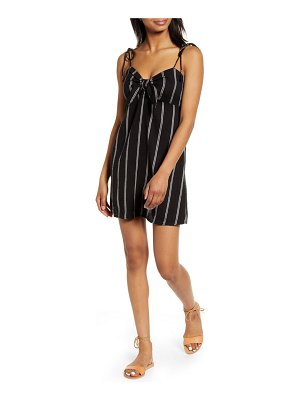 Billabong sweet pie knotted minidress