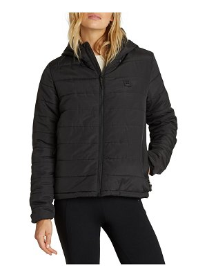 Billabong transport hooded puffer coat