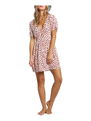 Billabong twirl twist floral minidress