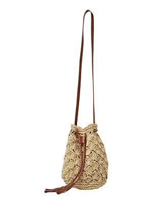 Billabong wake up straw bucket bag