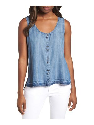 BILLY T chambray tank