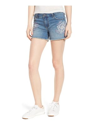 BILLY T embroidered denim shorts
