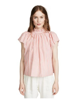 Birds of Paradis carla high neck blouse