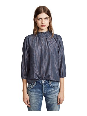 Birds of Paradis the connie high neck blouse
