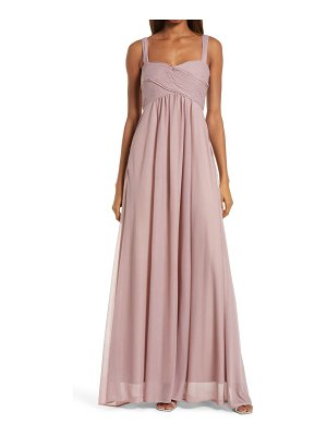BIRDY GREY maria convertible sleeve tulle gown