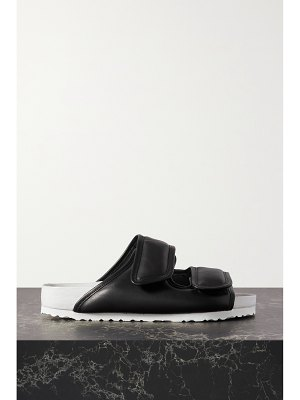 Birkenstock birkenstock 1774 - + ding yun zhang two-tone padded leather sandals