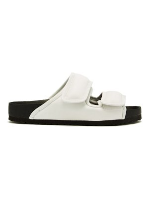 Birkenstock X CSM cosy padded-leather sandals