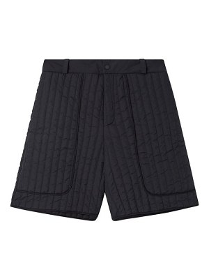 Birkenstock X Toogood the beachcomber quilted-shell shorts