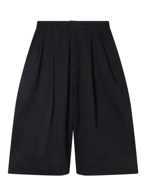 Birkenstock X Toogood the clown cropped wide-leg cotton-twill trousers