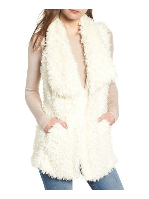 BISHOP AND YOUNG bishop + young faux fur vest