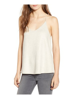 BISHOP AND YOUNG bishop + young micro stud faux suede camisole
