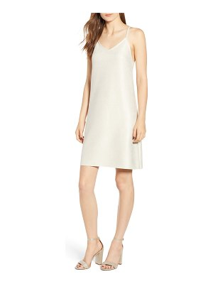 BISHOP AND YOUNG bishop + young micro stud faux suede mini slipdress