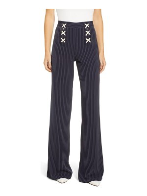 BISHOP AND YOUNG bishop & young power stripe lace-up sailor pants