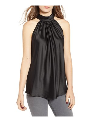 BISHOP AND YOUNG bishop + young satin tie neck blouse