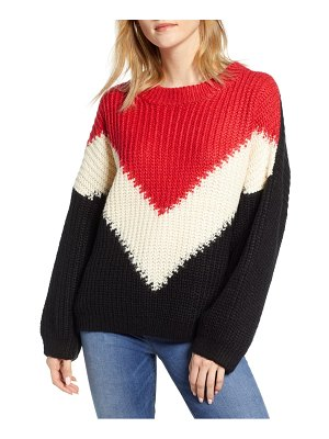 Bishop + Young the anthem colorblock shaker sweater