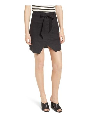 BISHOP AND YOUNG bishop + young tie front wrap style skirt