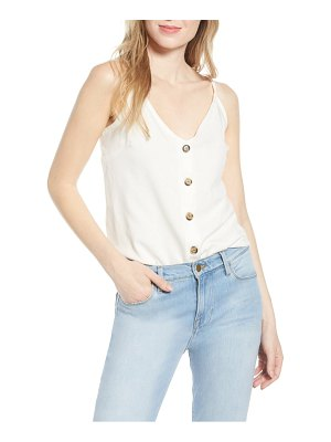 Bishop + Young button-up camisole