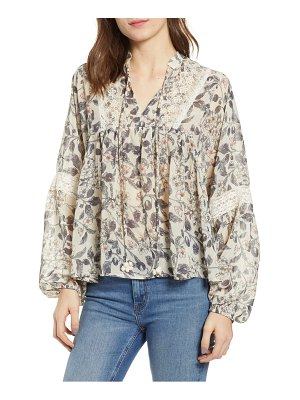 Bishop + Young floral blouse