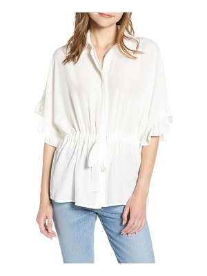 Bishop + Young ruffle sleeve blouse