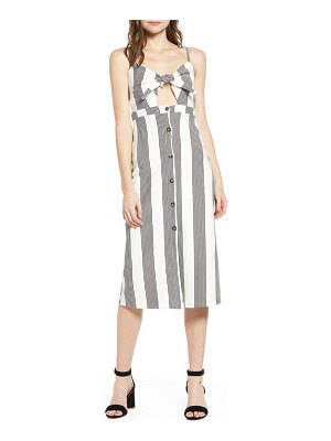 Bishop + Young stripe tie front sundress