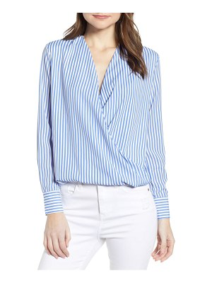 Bishop + Young twist front blouse