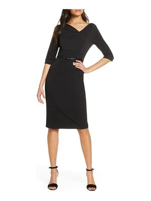 Black Halo jackie o sheath dress