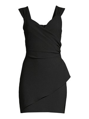 Black Halo talia mini dress