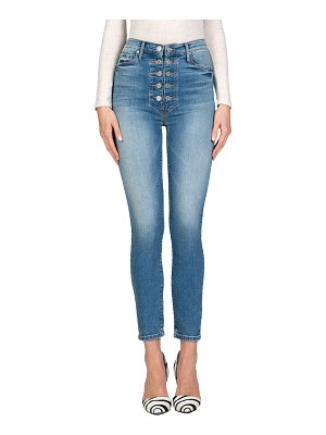 Black Orchid Bridget Double-Button Skinny Jeans