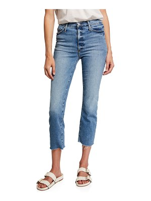 Black Orchid Brooke Straight Cropped Jeans