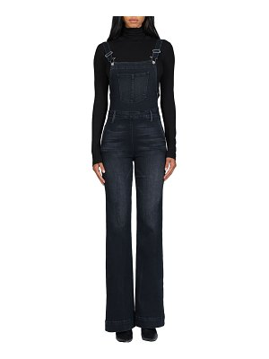 Black Orchid Chelsea Cotton-Blend Overalls