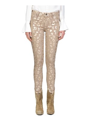 Black Orchid Jude Mid-Rise Leopard-Print Skinny Jeans