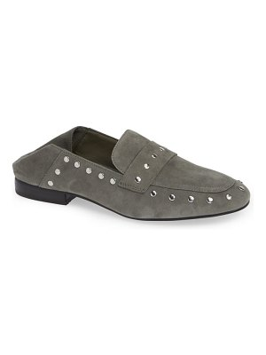 BLACK SUEDE STUDIO alfee studded convertible loafer