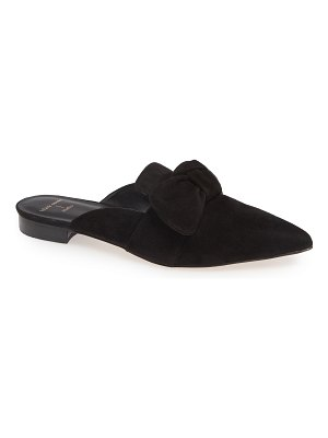 BLACK SUEDE STUDIO holly bow mule