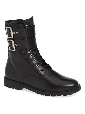 BLACK SUEDE STUDIO keri combat boot