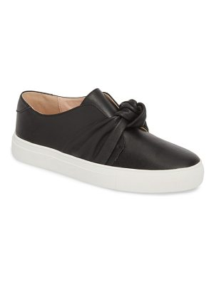 BLACK SUEDE STUDIO kim slip-on sneaker