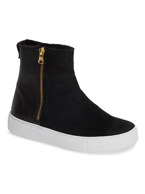 Blackstone ql49 sneaker bootie with genuine shearling lining