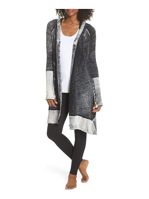 Blanc Noir huntress hooded cardigan