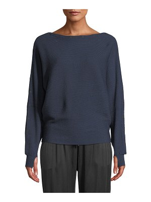 Blanc Noir Portola Sporty Pullover Sweater