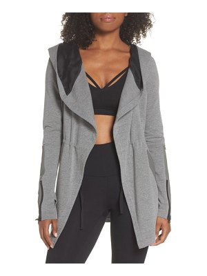 Blanc Noir traveler wrap jacket