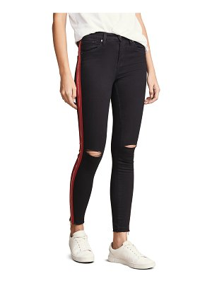 Blank Denim the reade crop skinny jeans with exposed zipper