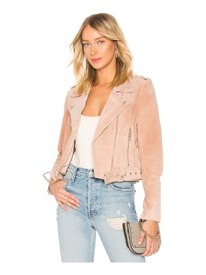 BLANK NYC Belted Suede Jacket