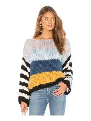 BLANK NYC Chunky Stripe Sweater