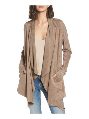 BLANK NYC cloud nine drape jacket