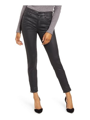 BLANK NYC coated ankle skinny jeans