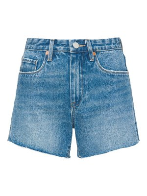 BLANK NYC denim mom shorts
