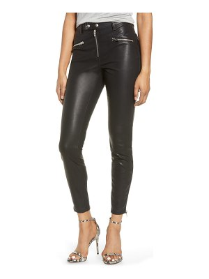 BLANK NYC faux leather skinny pants