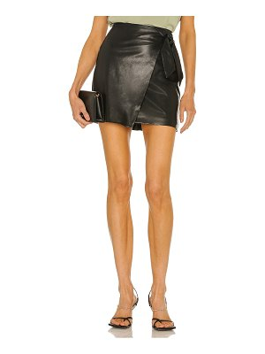 BLANK NYC faux leather skirt