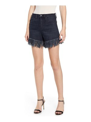 BLANK NYC fray hem denim shorts